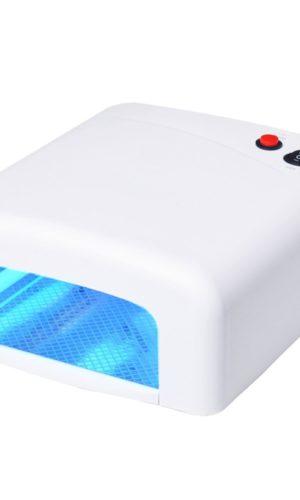 Лампа Ультрафиолетовая (UV) 36 Ватт таймер 120 секунд Белая