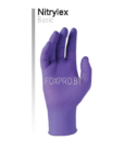Перчатки Nitrylex размер M 200 шт Фиолетовые
