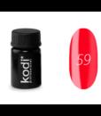 Гель краска Kodi №59