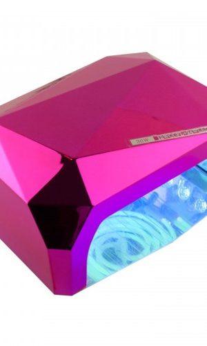 Лампа гибридная CCFL+LED 36 Вт с сенсором, малиновая