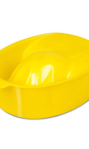 Ванночка для маникюра (желтая)