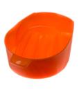 Ванночка для маникюра (оранжевая)