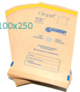 Крафт пакеты для стерилизации 100шт 100х250