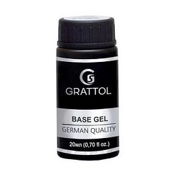 Grattol, База каучуковая Extra Cremnium (20 мл.)
