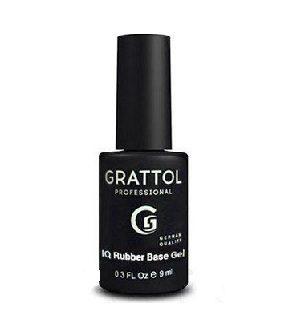 Grattol, База Каучуковая IQ Rubber Base Gel (9 мл.)